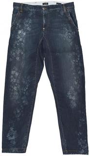 Armani Jeans Armani Jeans Mens Denim Y31 låg grenen beskurna Jeans