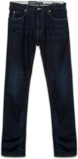 Armani Jeans Armani Jeans Mens Mörk blå Denim J45 Fit Regular Jeans