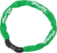 Masterlock 8392 Chain Lock 8 mm x 900 mm green 2019 Kombinationslås