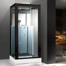 Exklusiv duschkabin med massage och entertainmentsystem