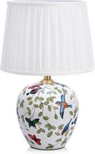 Markslöjd Mansion Pöytälamppu 1L Iso Kuvioitu/valkoinen