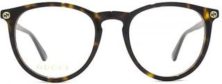 Gucci GG0027O briller i Havana