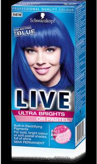 Schwarzkopf Schwarzkopf Live Ultra Brights eller Pastel - elektrisk...