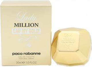 Paco Rabanne Lady Million Eau My Gold! Eau de Toilette 30ml Sprej