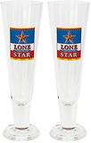 Lonestar öl Pilsner glas Set