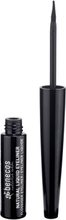 Natural Liquid Eyeliner - Black, 3 ml