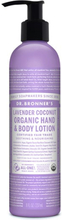Organic Hand & Body Lotion Lavender Coconut, 237 ml