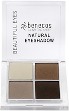 Natural Quattro Eyeshadow - Coffee & Cream, 8 g