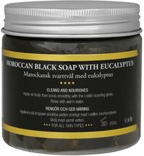 Marockansk Svarttvål med Eukalyptus, 200 g