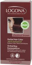 Örthårfärg, 100 g, Kastanjebrun