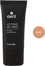 Organic Liquid Foundation Cream, 30 ml, Doré