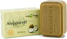 Aleppotvål med doft - 4% lagerbärsolja, ca. 100 g, Kokos