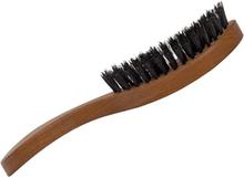 Hårborste i päronträ för långt hår