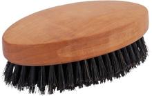 Hårborste i päronträ utan handtag