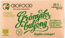 Ekologisk Grönsaksbuljong Tärning, 8 st