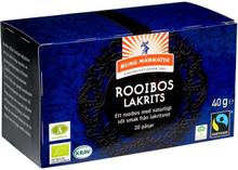 Rooibos med Lakrits, 20 påsar