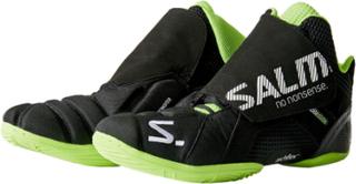 Salming Slide 4 Goalie Shoe Black/Gecko Green 39