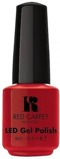 Røde løperen manikyr røde løperen manikyr Gel polsk - rødlig