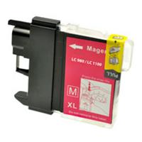 Brother LC980 M Magenta kompatibel blækpatron
