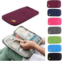 Reseplånbok passfodral organisator plånbok pass olika färger