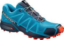 Salomon Speedcross 4 Shoes Herr fjord blue navy blazer cherry tomato UK 7,5 | EU 41 1/3 2019 Skor för OCR