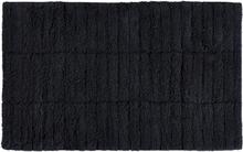 Tiles kylpyhuoneen matto Black