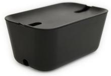 Bosign - Hideaway Black - Kabelskjuler, Sort/sort