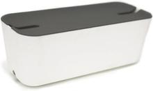Bosign - Hideaway - Kabelskjuler Xl,grå/hvit