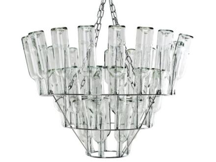 Leitmotiv - Wine Bottle Chandelier - Taklampe