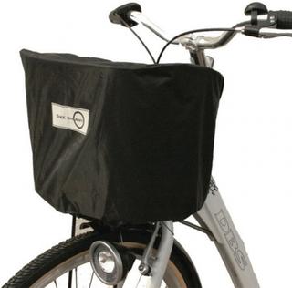 Regnskydd till cykelkorg