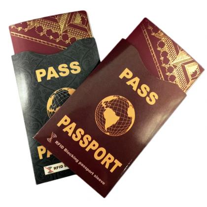 Passficka med RFID-skydd
