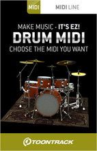 Toontrack Drum Midi Pack