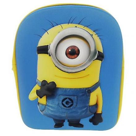 Despicable Me Foragtelige mig Junior rygsæk 3D Minion 30cm x 23cm x... - Fruugo