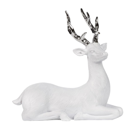Serafina Hjort hvit-sølv medium