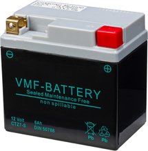 VMF Powersport AGM Batteri 12 V 6 Ah FA YTZ7-S
