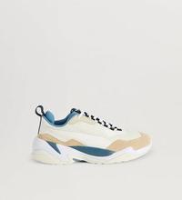 Puma Sneakers Thunder Nature Pale Khaki- Cloud Cream-Bluestone Brun