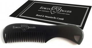 Edwin Jagger Black Moustache Comb
