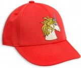 MR UNICORN EMB CAP RED, stl 56-58