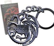 Game of Thrones - Metal Keychain Targaryen Sigil