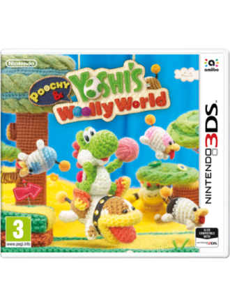 Poochy & Yoshi's Woolly World - 3DS - Seikkailu