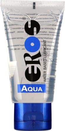 Eros Aqua: Vattenbaserat Glidmedel (Tub), 50 ml