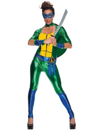 Leonardo Leo Jumpsuit Teenage Mutant Ninja Turtles superhelte kvind... - Fruugo