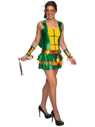 Michelangelo sexet kjole Teenage Mutant Ninja Turtles superhelte kv... - Fruugo