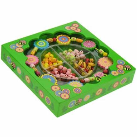 Bigjigs trælegetøj blomst perle Box - Fruugo