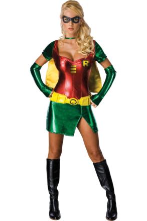 Kvinder kostumer kvinder sexet superhelte robin - Fruugo