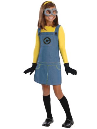Kvindelige Minion håndlangere foragtelige mig film licens kjole op ... - Fruugo