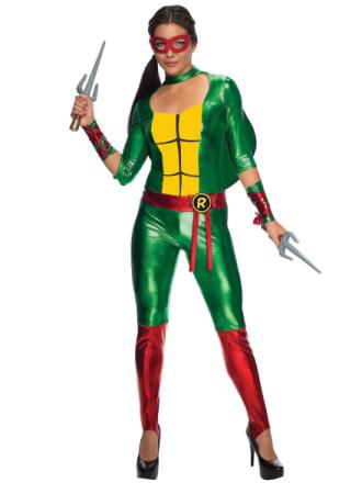 Raphael Raph Jumpsuit Teenage Mutant Ninja Turtles superhelte kvind... - Fruugo