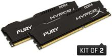 HyperX Fury DDR4-2666 BK C16 DC - 16GB