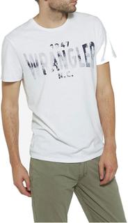 Wrangler S/S Wrangler Tshirt - hvid