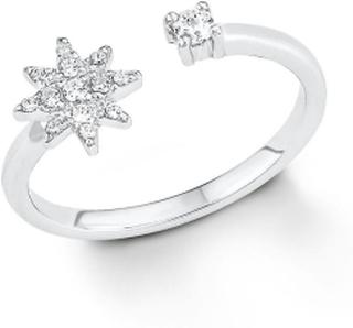 S. Oliver s.Oliver juvel damer ring Silver Star 201253 50 (15.9 mm Ø)